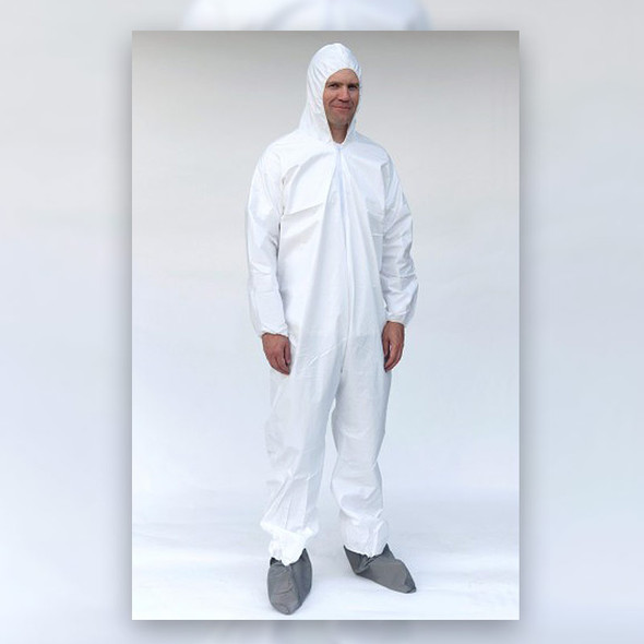 Sunrise Case of 25 Suntech Deluxe Coveralls with Hood & Boots SMP261