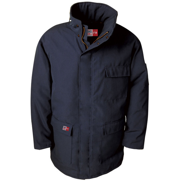 Big Bill FR UltraSoft 7 oz. Winter Parka M300US7 Navy