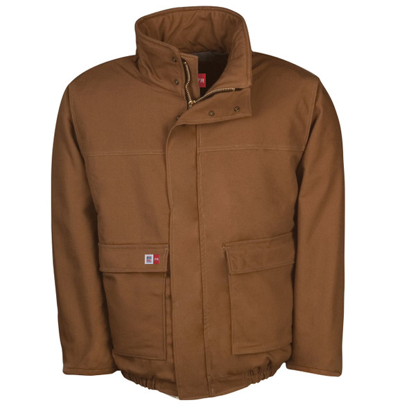 Big Bill FR UltraSoft 11 oz. Canvas Duck Winter Bomber Jacket M400USD