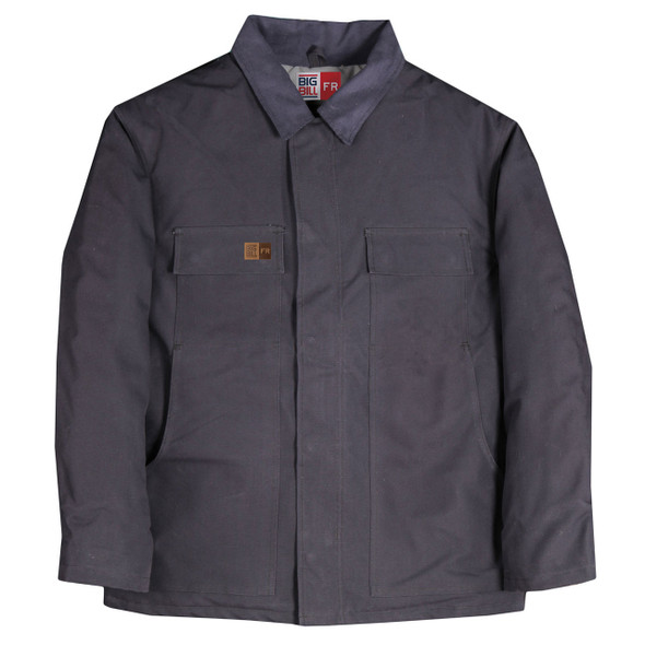 Big Bill FR UltraSoft 11 oz. Winter Canvas Duck Field Coat M513USD Navy
