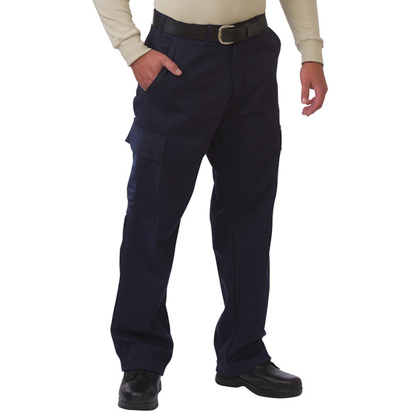 Big Bill FR 9 oz. UltraSoft Cargo Pants 3239US9 Navy