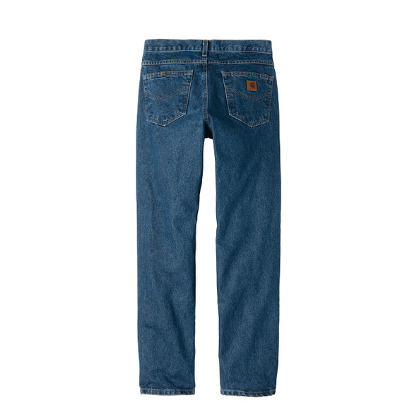 Carhartt Tapered Leg Jeans Relaxed Fit B17 Darkstone Back