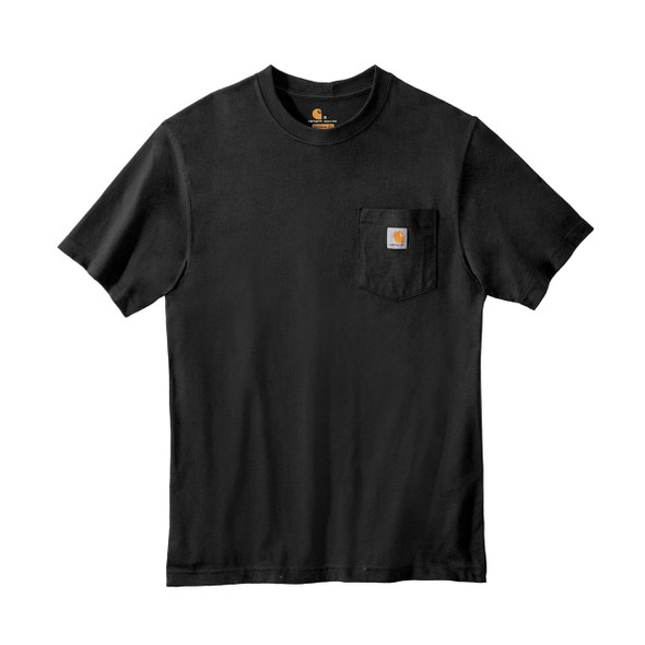 Carhartt Workwear Pocket T Shirt K87 Black Front