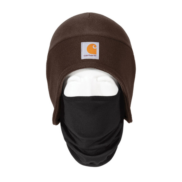 Carhartt 2 in 1 Cold Weather Hat CTA202 Dark Brown Front
