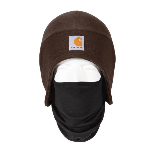 Carhartt 2 in 1 Cold Weather Hat CTA202 Dark Brown Front