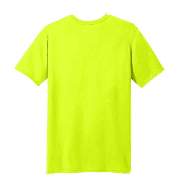 Gildan Enhanced Visibility Moisture Wicking T-Shirt 42000 Back