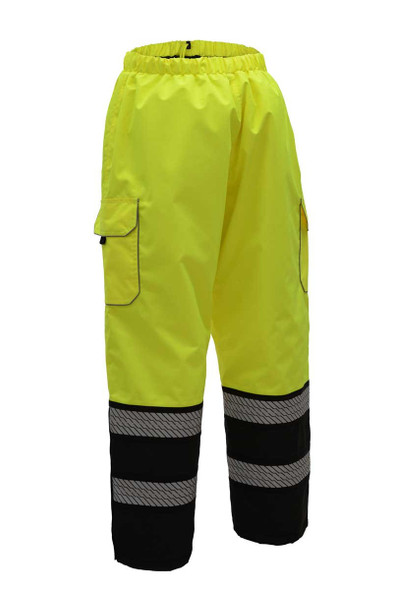 GSS Class E Hi Vis Lime Insulated Winter Pants 8711