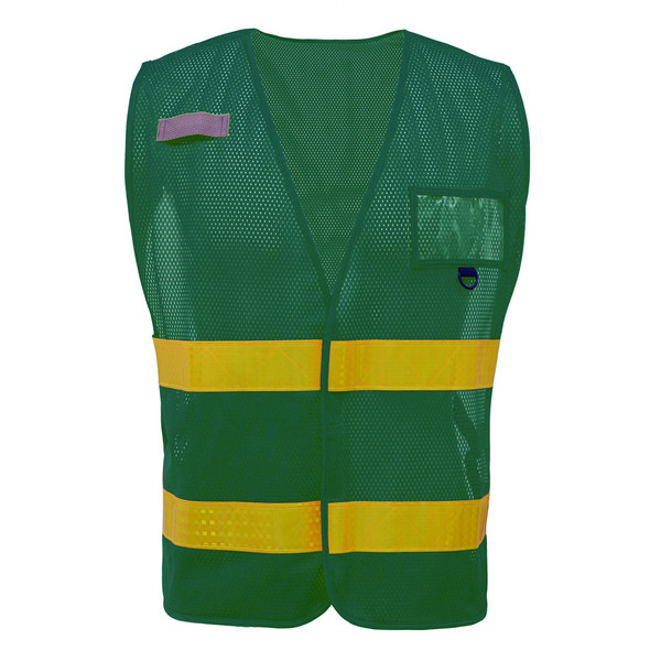 GSS Non-ANSI Enhanced Visibility Green Mesh Vest 3116