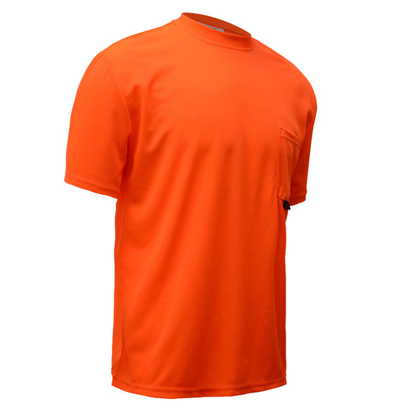 GSS Non-ANSI Hi Vis Orange Moisture Wicking T-Shirt 5502 Right Side