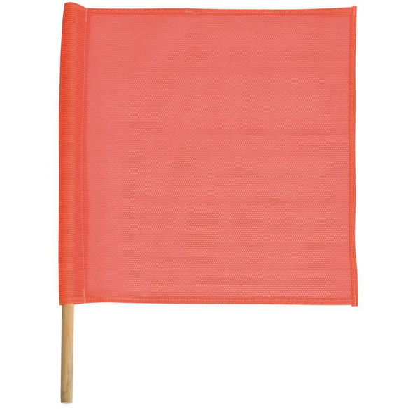 Safety Flag Made With Bright Orange Mesh SFKV18-24O