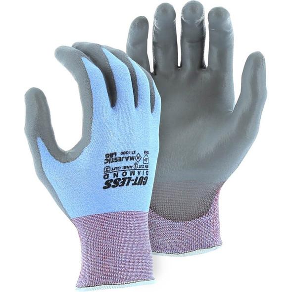 Majestic Box of 12 Pair A2 Cut Level Cut-Less Diamond Seamless Knit Glove 37-1300