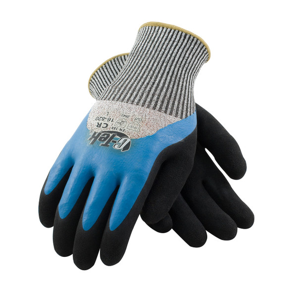 PIP Box of 72 Pair A3 Cut Level G-Tek Polykor Gloves 16-820 Top