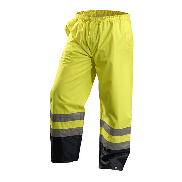 Occunomix Class E Hi Vis Premium Breathable Pants LUX-TENR Yellow