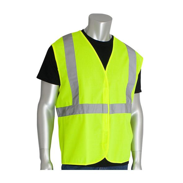 PIP Class 2 Hi Vis Economy Solid Vest 302-WCENG