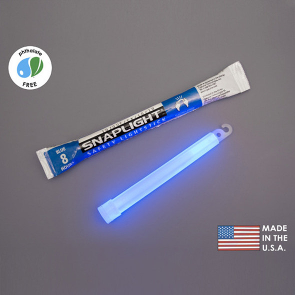 Cyalume Box of 100 Blue Glow Sticks 9-08003