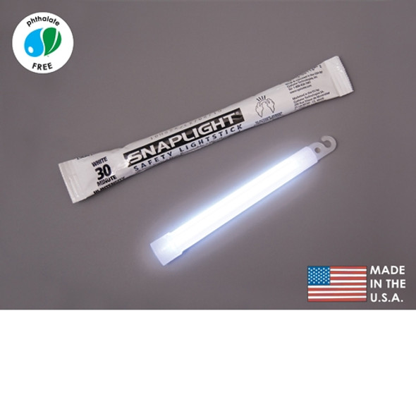 Cyalume Box of 100 White Glow Sticks 9-08093