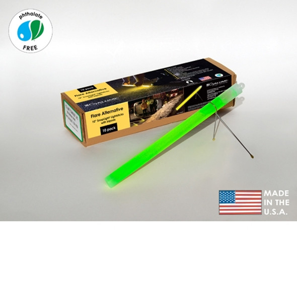 40 Cyalume Flare Alternative Green Glow Sticks 9-27049