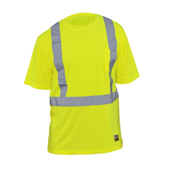 Utility Pro Class 2 Hi Vis Yellow T-Shirt with Perimeter Insect Guard and SPF 35 UHV868