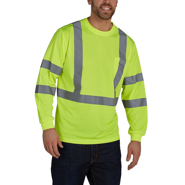 Utility Pro Class 3 Birdseye Knit LS Tee with Perimeter Insect Guard and SPF 35 UHV867