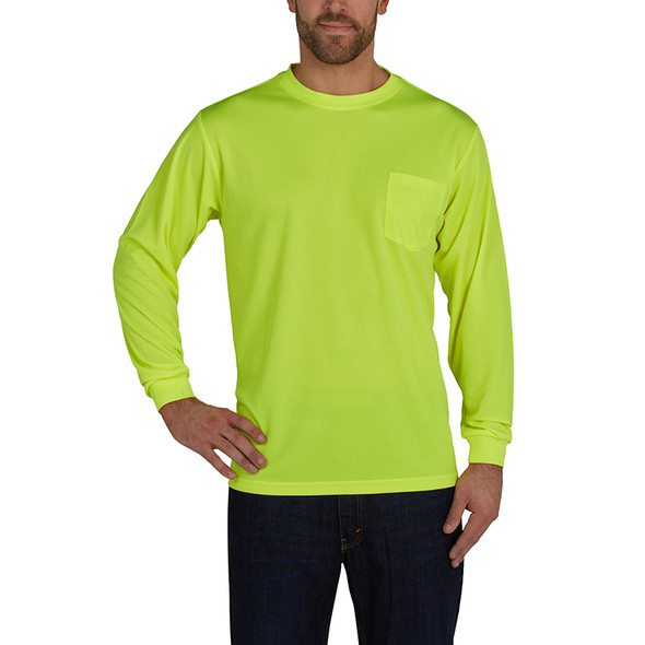 Utility Pro Non-ANSI Birdseye Knit LS Shirt with Perimeter Insect Guard and SPF 35 UHV856