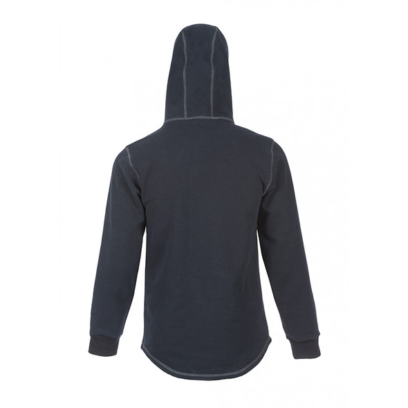 DragonWear FR Elements Cyclone Pull-Over Navy Made in USA Hoodie DFMC141 Back