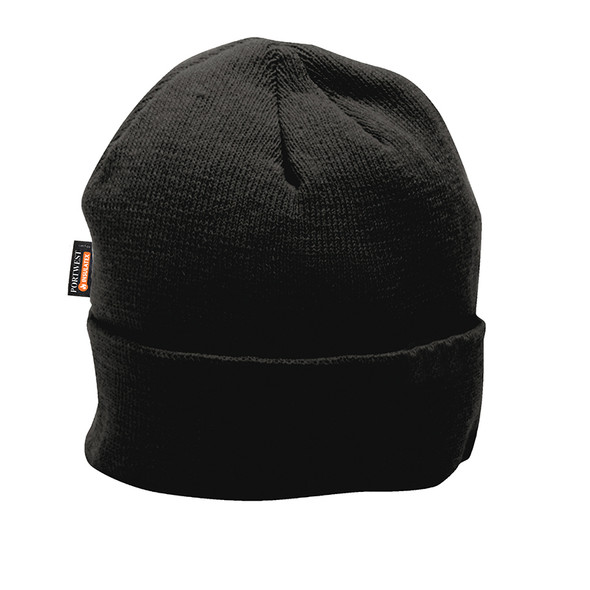 PortWest Insulatex Lined Knit Cap B013 Black