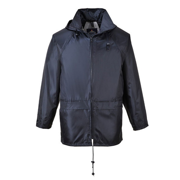 PortWest Navy Classic Rain Jacket US440NA