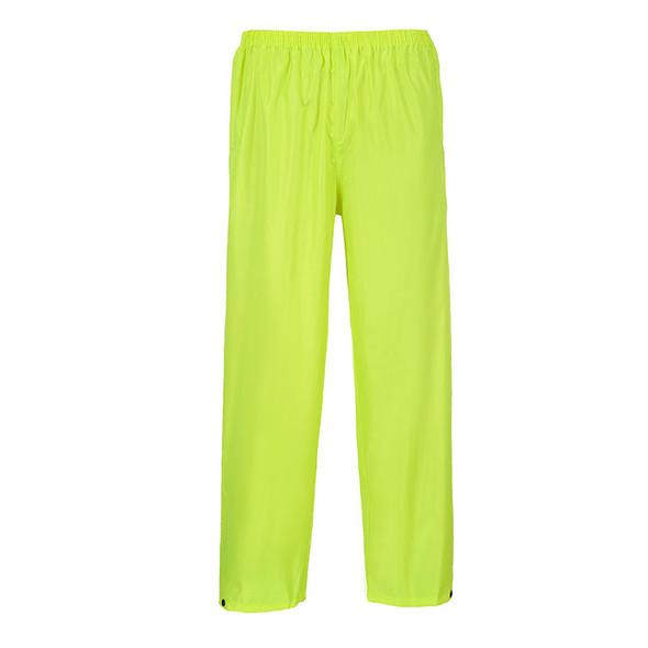 PortWest Non-ANSI Yellow Classic Rain Pants S441YE