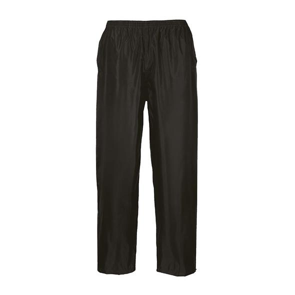 PortWest Black Classic Rain Pants S441BK