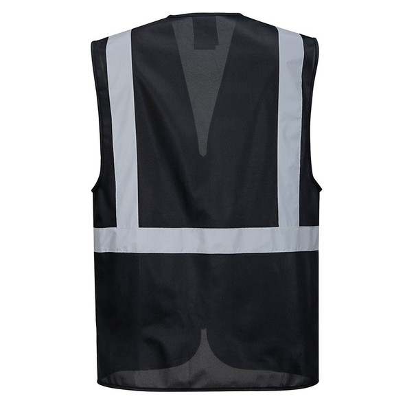 PortWest Enhanced Visibility Iona Executive Vest UF476 Back