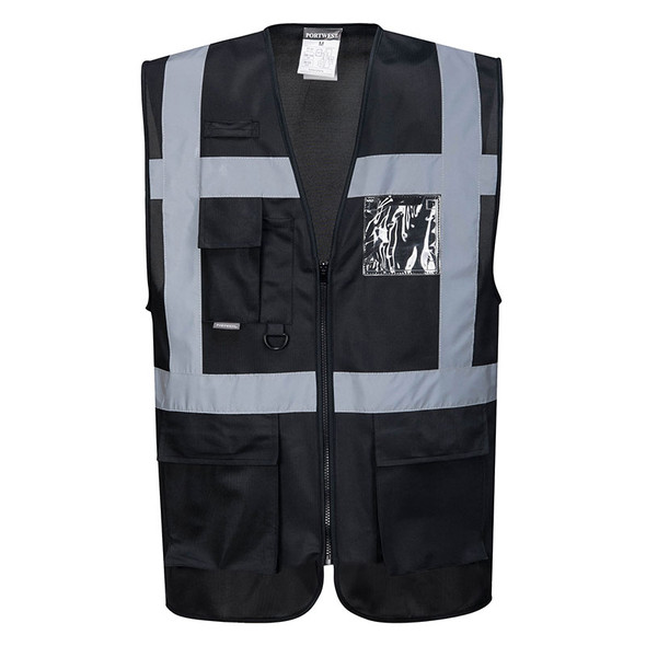 PortWest Enhanced Visibility Iona Executive Vest UF476 Front