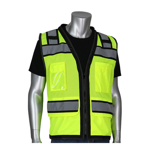 PIP Class 2 Hi Vis Two-Tone Eleven Pocket Surveyors Vest 302-0800D
