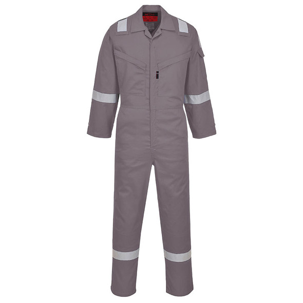 PortWest FR Araflame Grey Unlined Coveralls UAF73GR