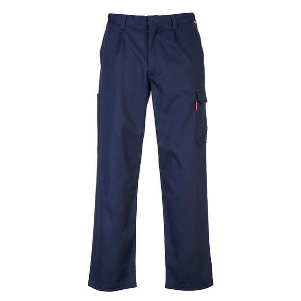PortWest FR BizWeld Navy Cargo Pants BZ31NA Back
