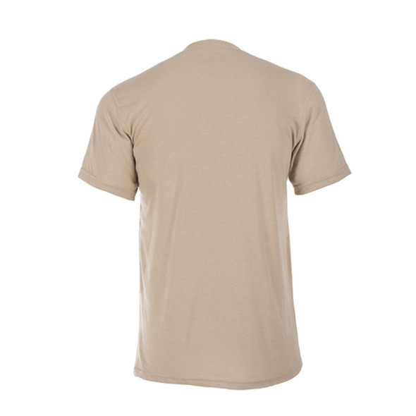 DragonWear FR Moisture Wicking Tan T-Shirt DFDS127 Back