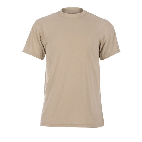 DragonWear FR Moisture Wicking Tan T-Shirt DFDS127 Front