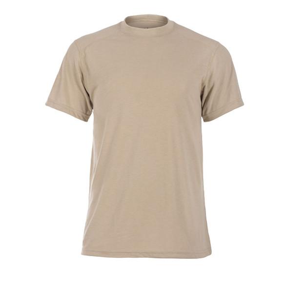 DragonWear FR Moisture Wicking Tan T-Shirt DFDS127 Front