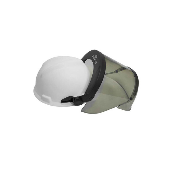 NSA FR Pureview Made in USA Face Shield with Hard Hat H12HTHAT