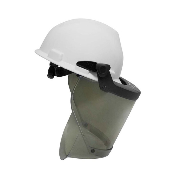 NSA FR Pureview Face Shield with Hard Hat H20HTHAT