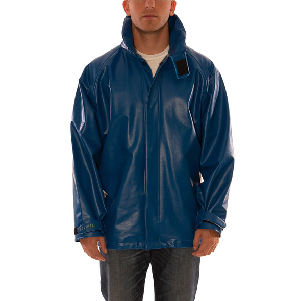 Tingley FR Industrial Blue Eclipse Rain Jacket J44241 Front