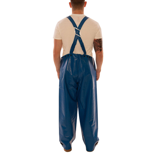 Tingley FR Industrial Blue Eclipse Rain Overalls O44041 Back