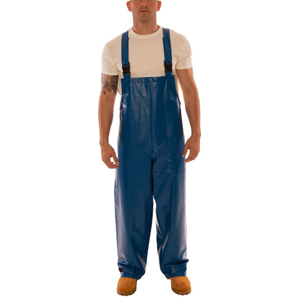 Tingley FR Industrial Blue Eclipse Rain Overalls O44041 Front