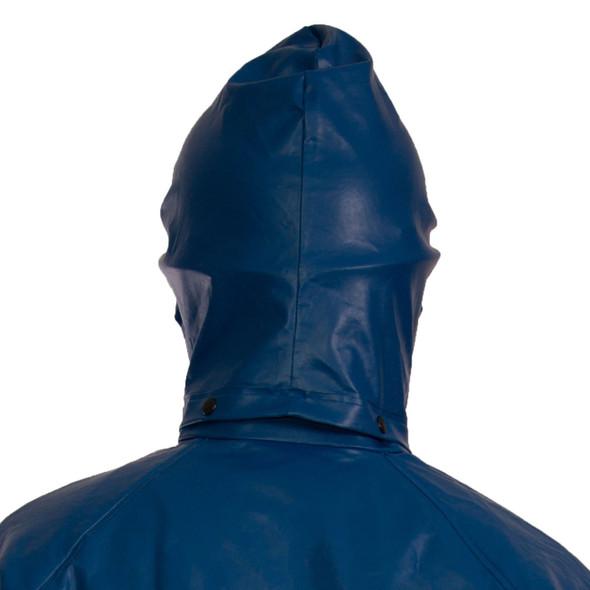 Tingley FR Industrial Blue Eclipse Detachable Rain Hood H44101 Up