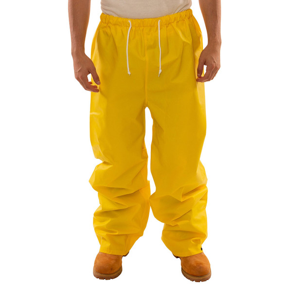 Tingley ASTM D6413 Industrial Yellow DuraScrim Rain Pants P56007 Front