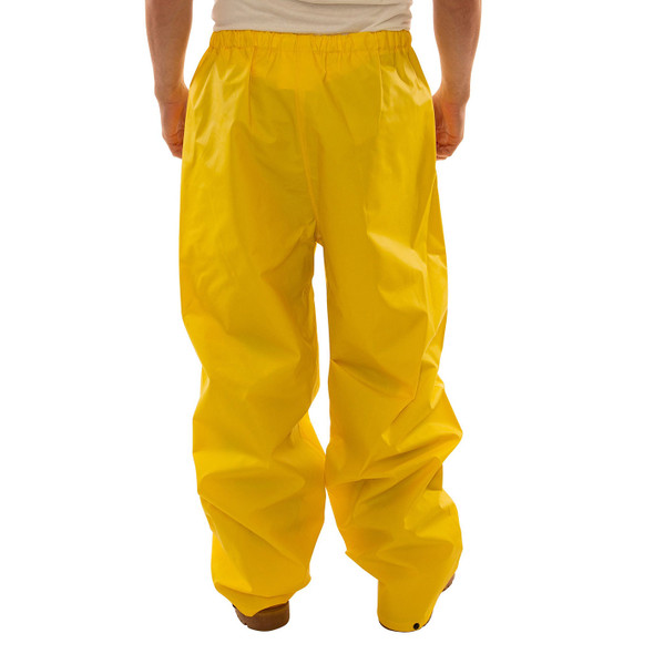 Tingley ASTM D6413 Industrial Yellow DuraScrim Rain Pants P56007 Back