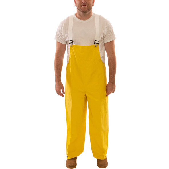 Tingley ASTM D6413 Industrial Yellow Magnaprene Chem Splash Overalls O12007 Front