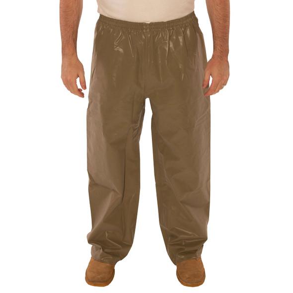 Tingley ASTM D6413 Industrial Olive Drab Magnaprene Chem Splash Pants P12008 Front