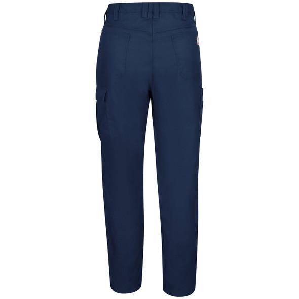 Bulwark FR iQ Lightweight Pants QP14 Navy Back