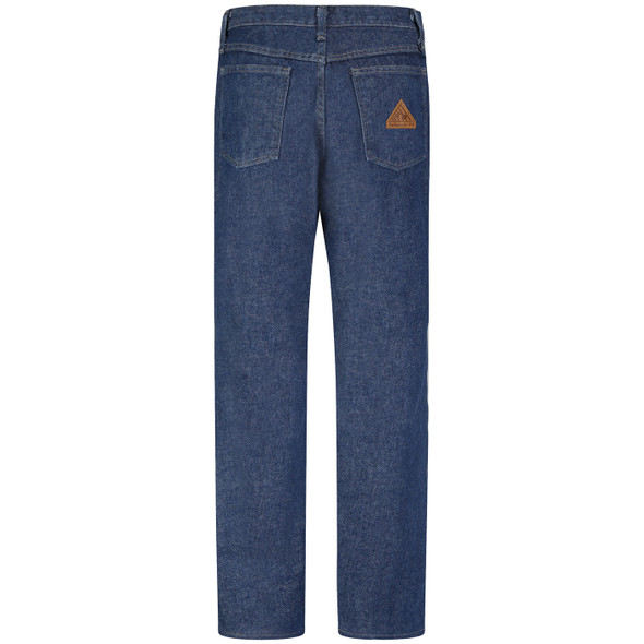 Bulwark Womens FR Pre-Washed Denim Jeans PEJ3DW Back