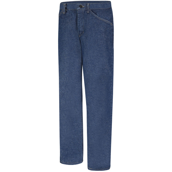 Bulwark Womens FR Pre-Washed Denim Jeans PEJ3DW Front
